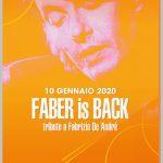 FABER IS BACK – il tributo a Fabrizio de André ritorna al Live Club