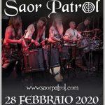 SAOR PATROL tornano al Live Club a febbraio