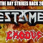 The Bay Strikes Back Tour con Testament, Exodus e Death Angel – rimborsi disponibili fino al 31 luglio