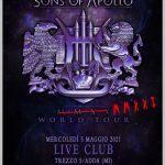 SPOSTATO AL 5 MAGGIO 2021 il concerto dei Sons of Apollo