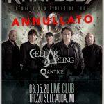 Annullato il concerto di Turilli/Lione Rhapsody previsto al Live Club