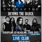Amaranthe e Beyond the Black – data spostata al 2022