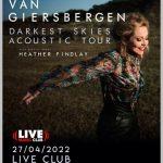 ANNEKE VAN GIERSBERGEN Acoustic Tour – ad aprile al Live Club