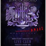 Annullato il concerto dei SONS OF APOLLO in programma al Live Club