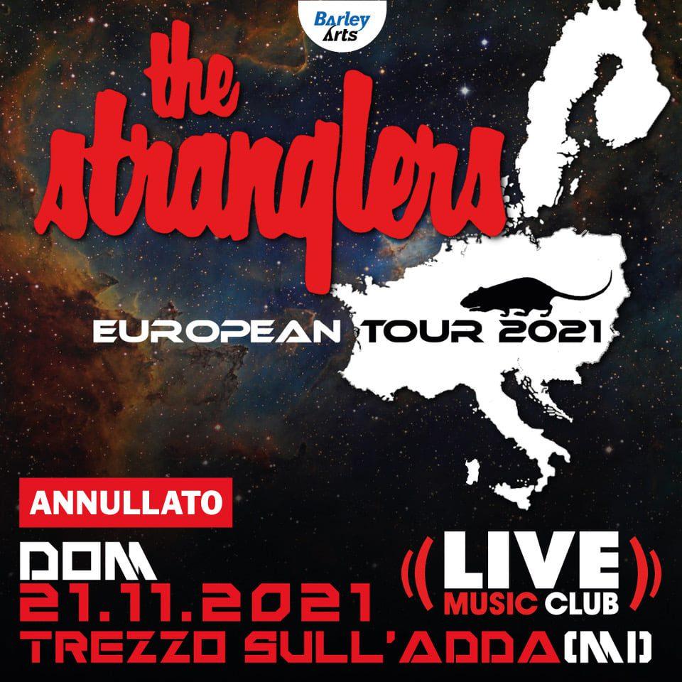 """Featured image for """"Annullata la data dei The Stranglers il 21 novembre"""""""